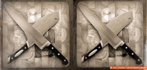 The One About The Cleaver and Other Kitchen Utensils