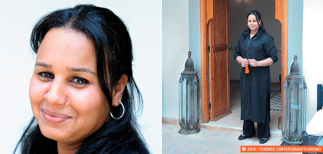 Jamila from Marrakech, Morocco. Copyright 2014 Terence Carter / Grantourismo. All Rights Reserved.