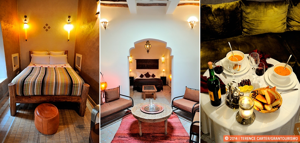 Dar Rocmarra, a riad in Marrakech, Morocco. Copyright 2014 Terence Carter / Grantourismo. All Rights Reserved.