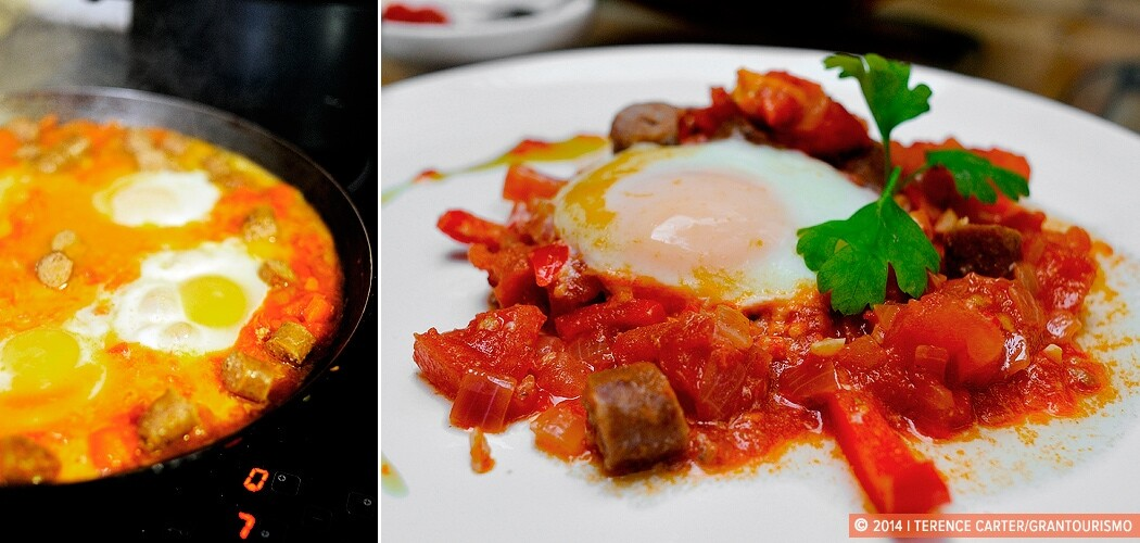Recipe — Chakchouka (North African Poached Eggs in a Spicy Tom
