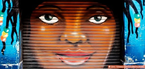 Barcelona Street Art, Shutter Art and Garage Door Graffiti