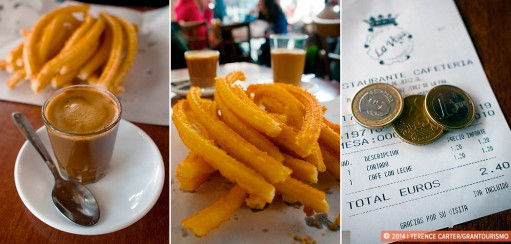 Churros in Jerez
