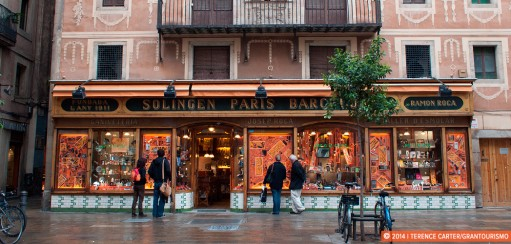 Barcelona's Charming Old Shop Fronts