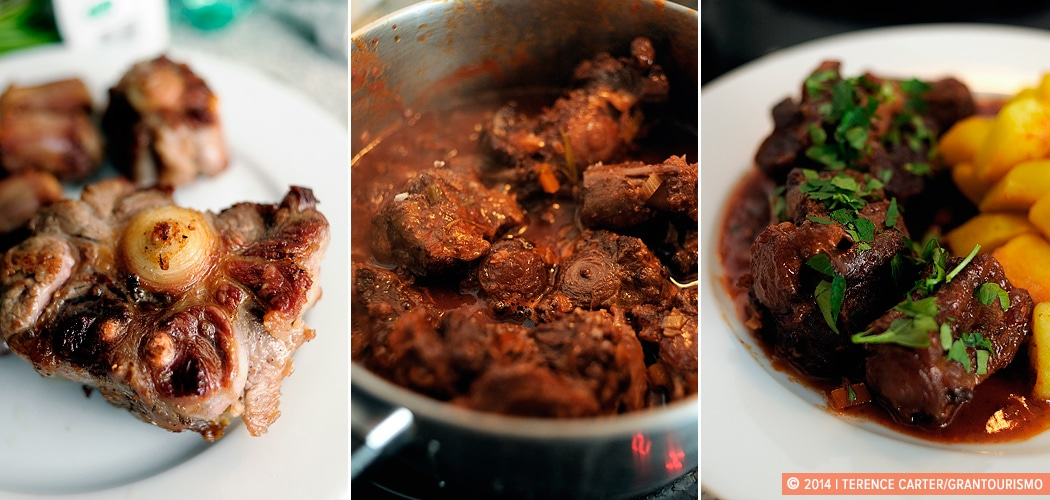 Recipe — The Dish: Rabo de Toro or Oxtail Stew, Jerez, Spain. Copyright 2014 Terence Carter / Grantourismo. All Rights Reserved.
