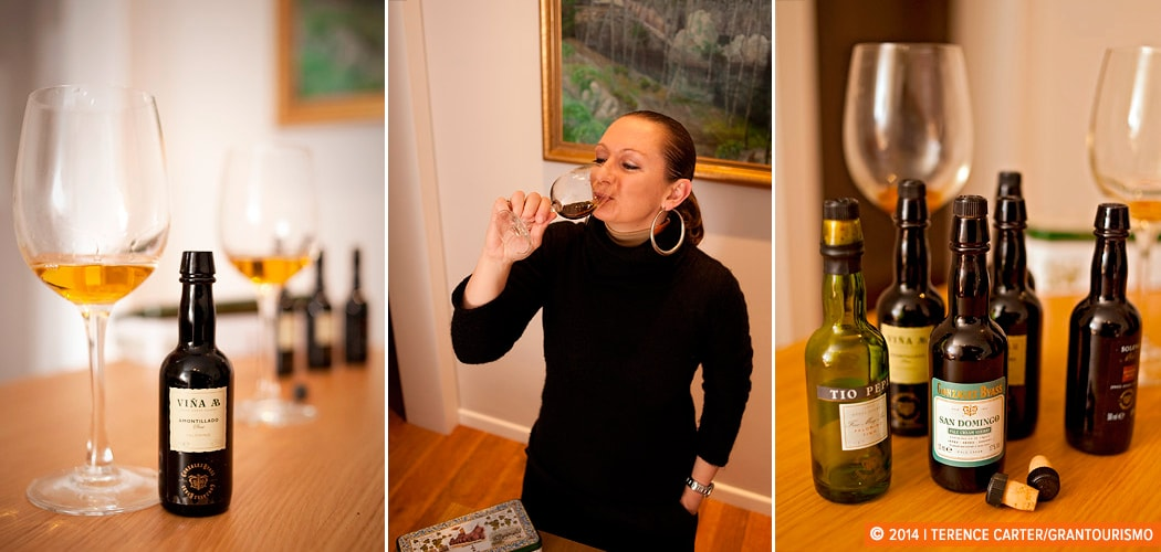Sheery tasting, Jerez, Spain. Copyright 2014 Terence Carter / Grantourismo. All Rights Reserved.