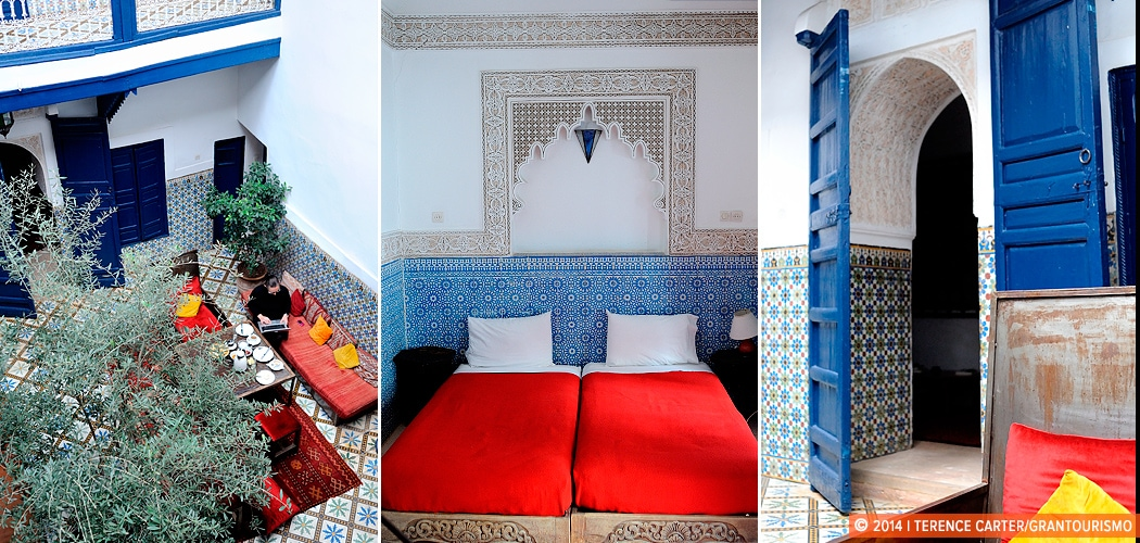 Tips on renting a riad in Morocco. Marrakech, Morocco. Copyright 2014 Terence Carter / Grantourismo. All Rights Reserved.