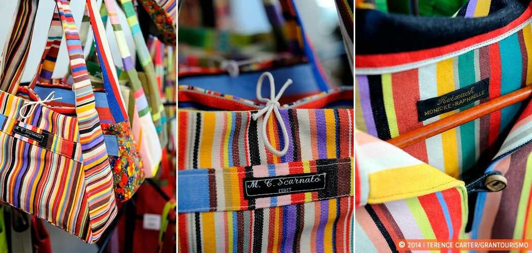 Ceret Take-Homes: Catalan's Sunny Striped Cloth. Les Toiles Du S