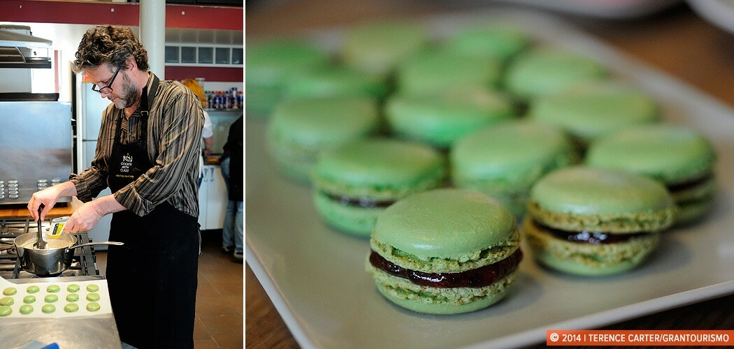 Cook'n With Class, macarons, Montmartre, Paris, France.