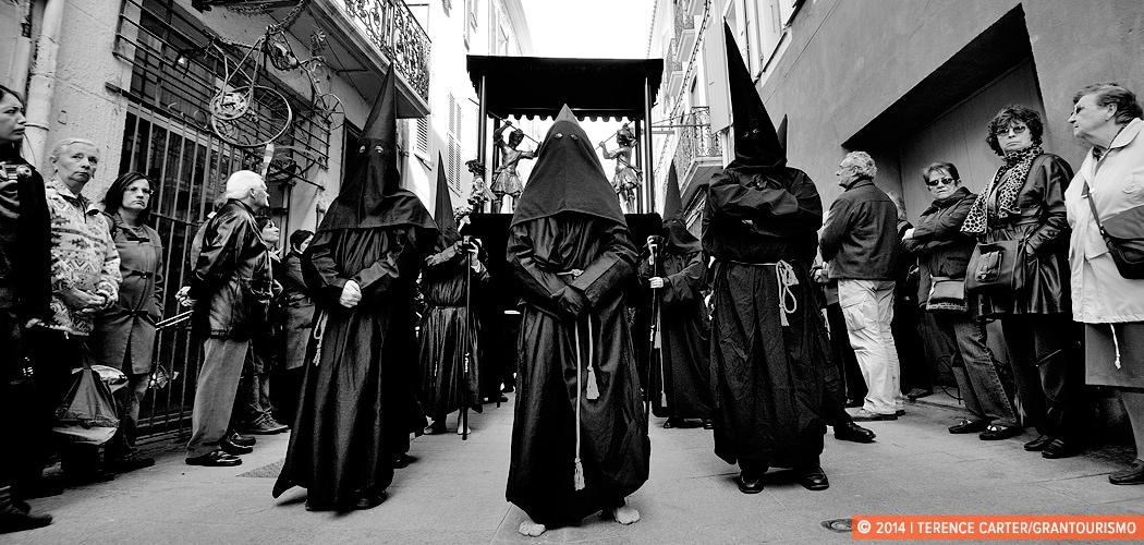 The Procession de la Sanch, Perpignan, France. Copyright 2014 Terence Carter / Grantourismo. All Rights Reserved.