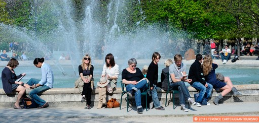 Snapshots: Paris on a spring afternoon