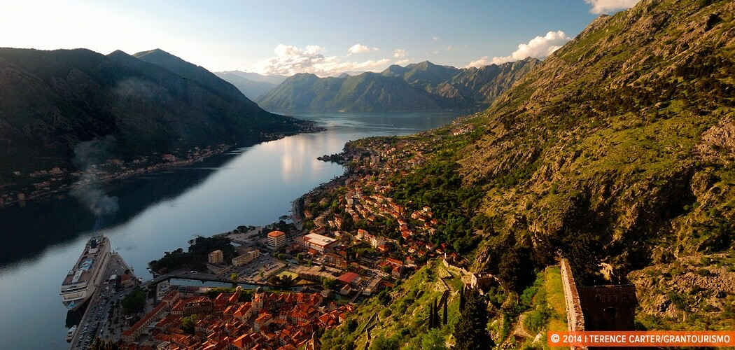 Climbing up to Kotor's Castle Of San Giovanni, Kotor, Montenegro