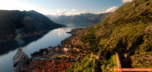 Climbing up to Kotor's Castle Of San Giovanni in Montenegro