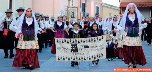 The Feast of Saint Isidoro in Sardinia