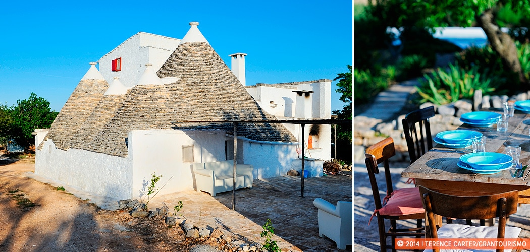 Holiday Rental Home, Alberobello, Puglia, Italy. Copyright 2014 Terence Carter / Grantourismo. All Rights Reserved.