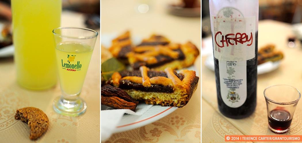 Limoncello and Cherry Liqueur recipes, Alberobello, Puglia, Italy. Homemade in Puglia. Copyright 2014 Terence Carter / Grantourismo. All Rights Reserved.