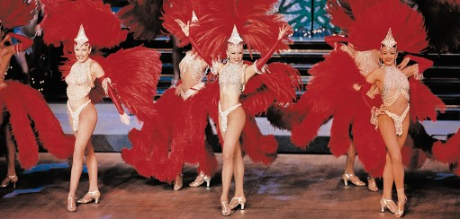 Getting Your Kicks at the Moulin Rouge!