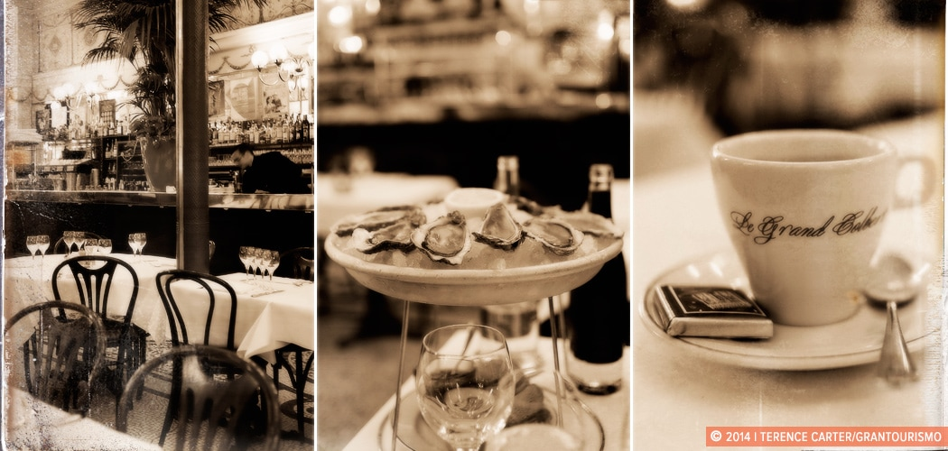 Le Grand Colbert Brasserie, Paris, France. Copyright 2014 Terence Carter / Grantourismo. All Rights Reserved.