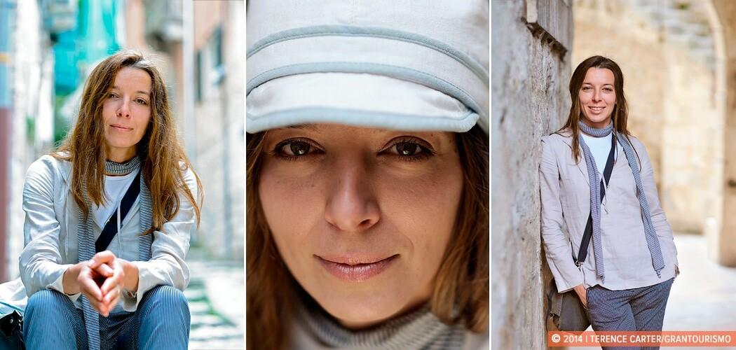 Local guide Vesna Alavanja, Kotor, Montenegro.