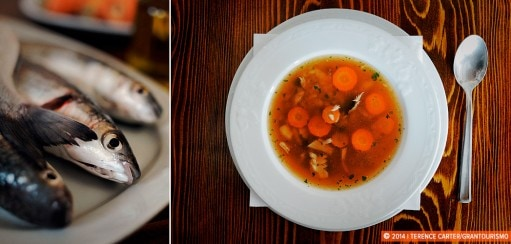Riblja Čorba, a Fish Soup Recipe from Kotor, Montenegro
