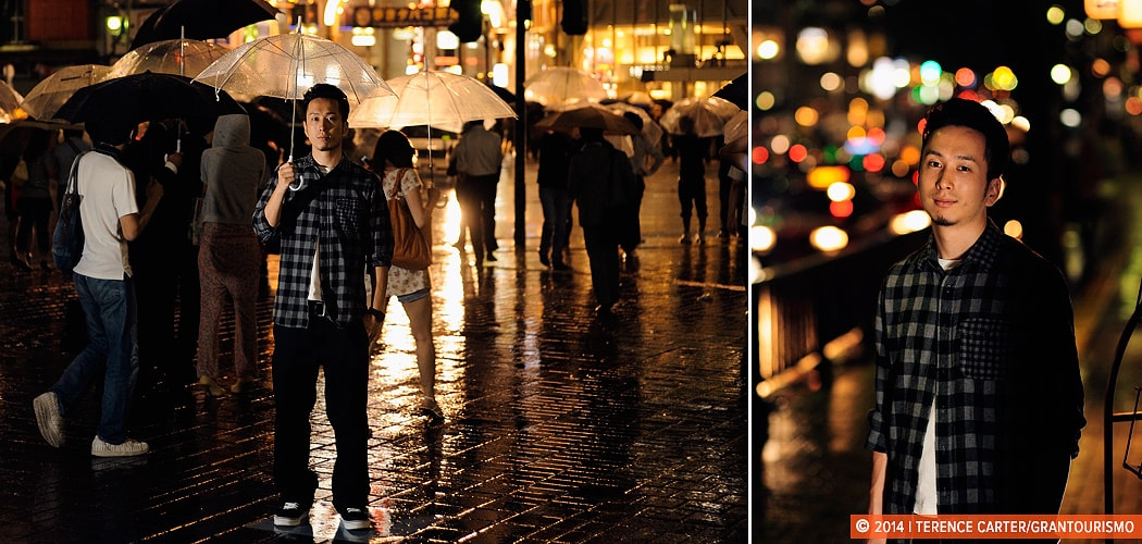 Environmental Portrait Photography, Yuto from Tokyo. Tokyo, Japan. Copyright 2014 Terence Carter / Grantourismo. All Rights Reserved.