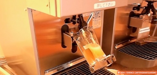 Sit back, relax and let the robot beer dispenser pour a perfect beer…