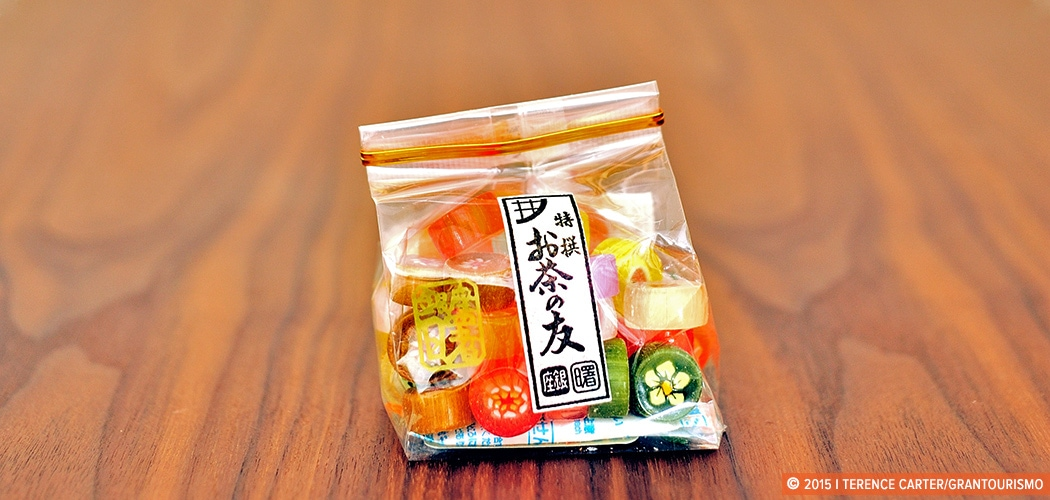 Tokyo Take-Homes: Supermarket Snack Food Souvenirs, Tokyo, Japan. Copyright 2015 Terence Carter / Grantourismo. All Rights Reserved.