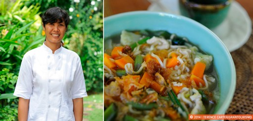 Cooking in Bali with Desak in a Cultural Cooking Exchange