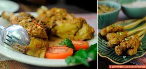 The Dish, Part 2: Balinese Saté and Ayam Betutu