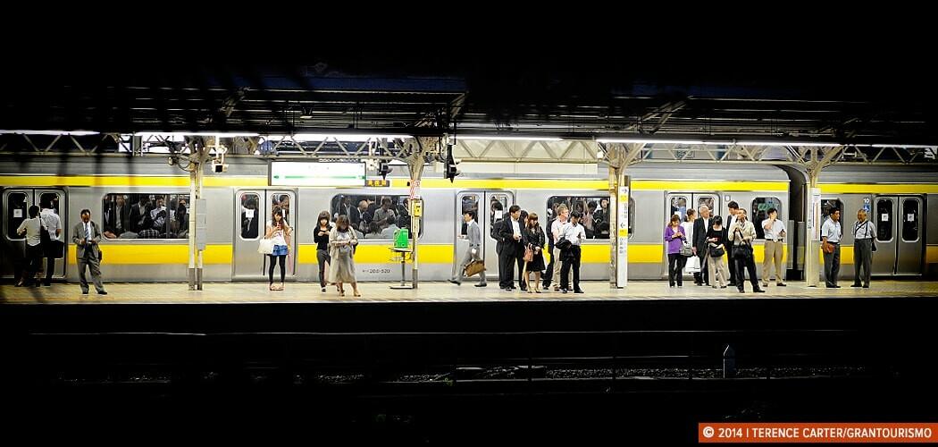 Train Station, Tokyo, Japan. Tokyo Reflections and Travel Tips