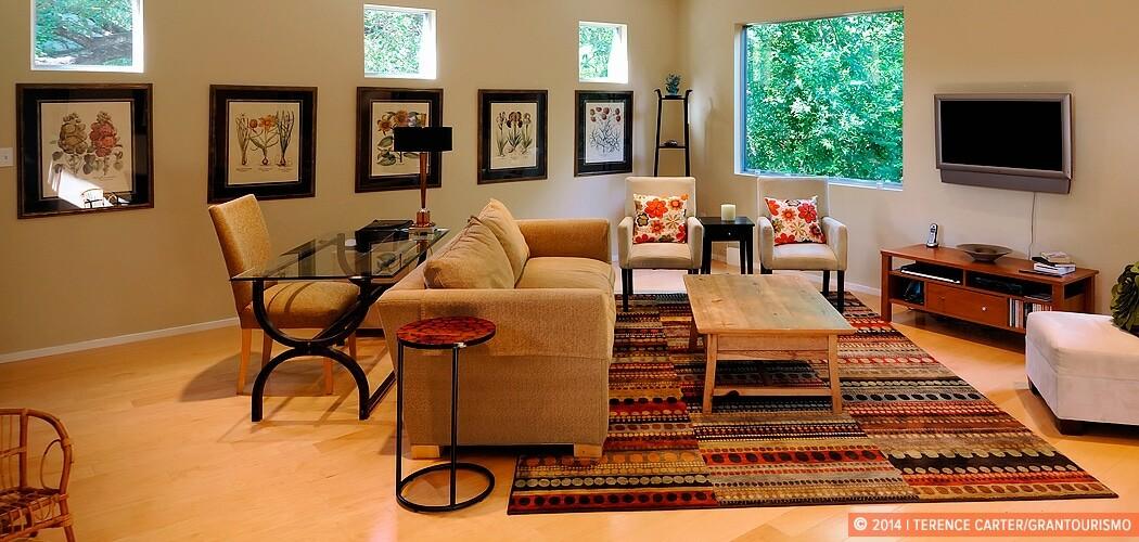 Luxury holiday rental house, Austin, Texas, USA.