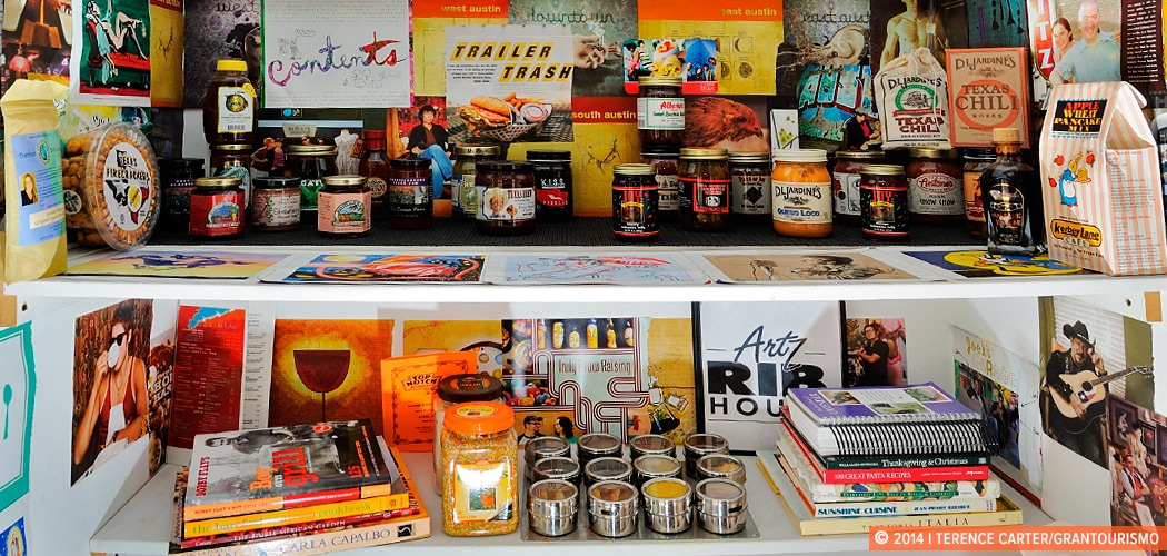 An Austin holiday house pantry, Austin, Texas, USA. Copyright 2014 Terence Carter / Grantourismo. All Rights Reserved.