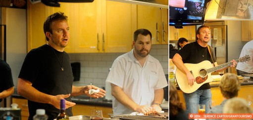 Only in Austin: a Country Music Cooking Lesson