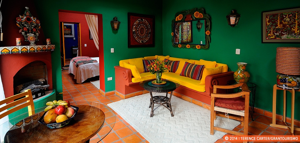 Holiday rental apartment, San Miguel de Allende, Mexico. Copyright 2014 Terence Carter / Grantourismo. All Rights Reserved.