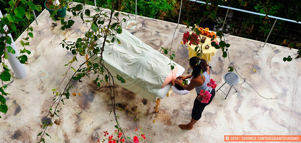 In Villa Spa. Manuel Antonio, Puntarenas, Costa Rica. Copyright 2014 Terence Carter / Grantourismo. All Rights Reserved.