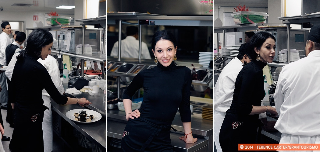 Chef Martha Ortiz Dulce Patria. Mexico City, Mexico. Copyright 2014 Terence Carter / Grantourismo. All Rights Reserved.