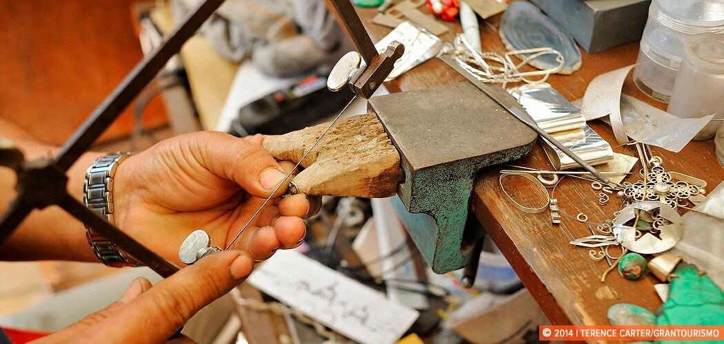 Silvermaking Lessons, San Miguel de Allende, Mexico.
