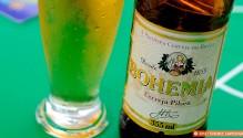 Bohemia beer, Copacobana Beach, Rio de Janeiro, Brazil. Price Check: a Rio de Janeiro Shopping List. Copyright 2014 Terence Carter / Grantourismo. All Rights Reserved.