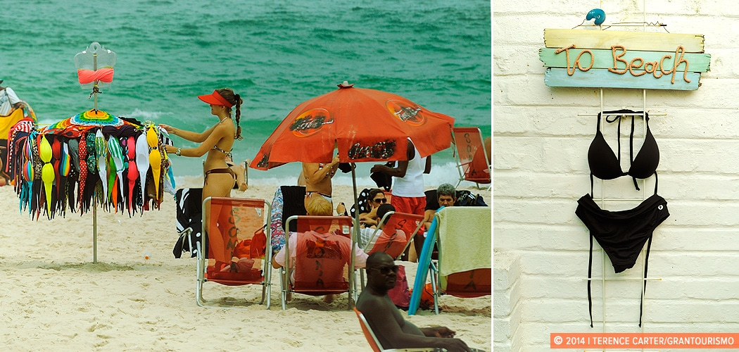 Rio de Janeiro Take-Homes: Brazilian Bikinis. Rio de Janeiro, Brazil. Copyright 2014 Terence Carter / Grantourismo. All Rights Reserved.