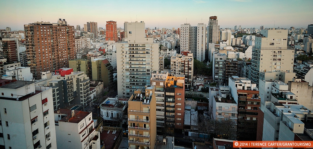 View from our Buenos Aires Holiday Rental. Buenos Aires Holiday Apartment Rental in Palermo Soho. Buenos Aires, Argentina. Buenos Aires, Argentina. Copyright 2014 Terence Carter / Grantourismo. All Rights Reserved.