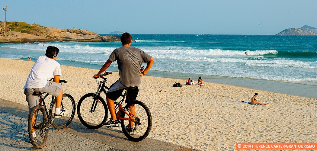 Ipanema, Where Life's a Beach, Rio de Janeiro, Brazil. Copyright 2014 Terence Carter / Grantourismo. All Rights Reserved.