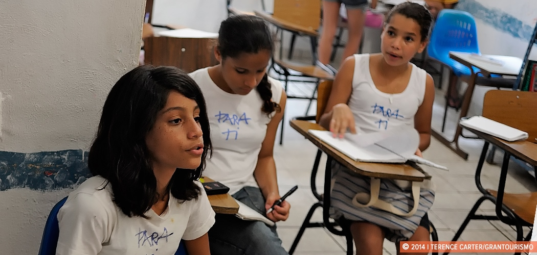 Para Ti NGO, Vila Canoas, Rio de Janeiro, Brazil. Para Ti - For You, a Chance to Make a Difference. Copyright 2014 Terence Carter / Grantourismo. All Rights Reserved.