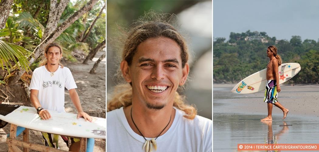 Portrait — Ivan Castillo, Manuel Antonio, Puntarenas, Costa Rica. Local Knowledge: Ivan from Manuel Antonio, Costa Rica. Copyright 2014 Terence Carter / Grantourismo. All Rights Reserved.