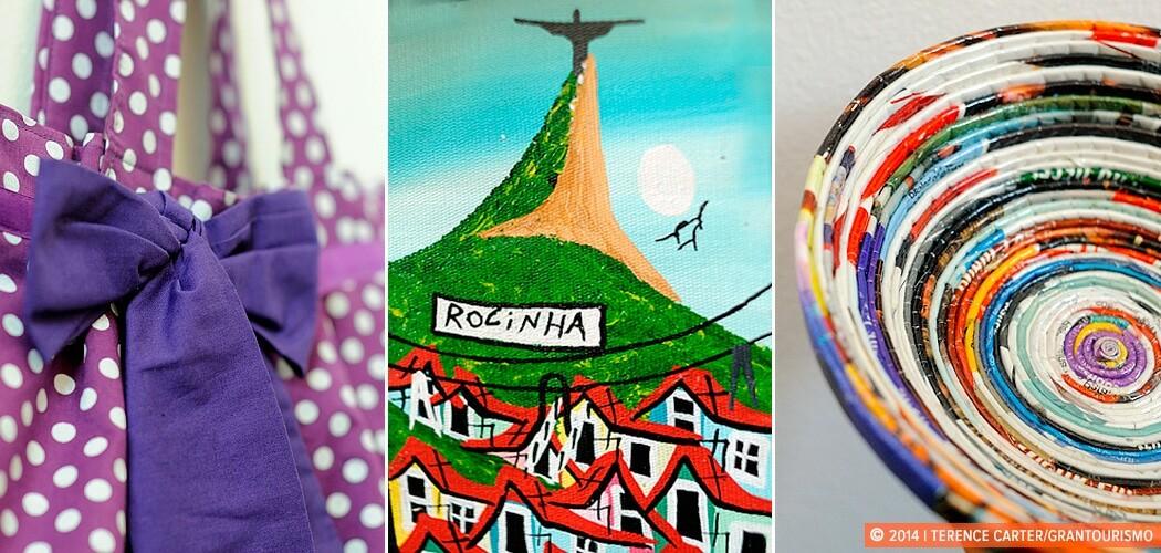 Rio de Janeiro Take Homes: Favela Finds. Rio de Janeiro, Brazil.