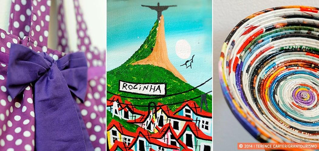 Rio de Janeiro Take Homes: Favela Finds. Rio de Janeiro, Brazil. Copyright 2014 Terence Carter / Grantourismo. All Rights Reserved.