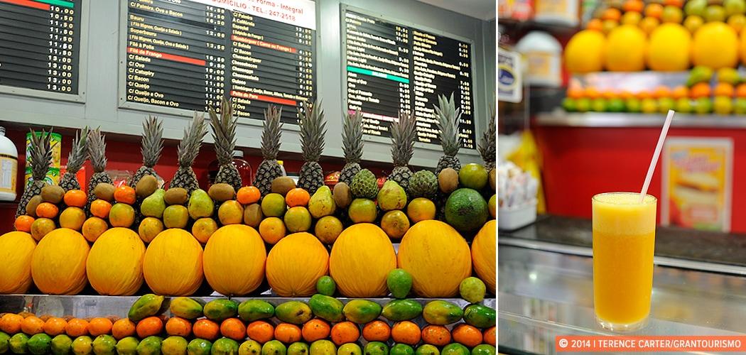 Rio de Janeiro's Juice Bars. Rio de Janeiro, Brazil. Copyright 2014 Terence Carter / Grantourismo. All Rights Reserved.