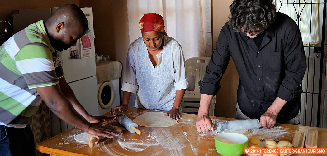 A Cape Malay Cooking Lesson in Bo-Kaap, Cape Town, South Africa. Copyright 2014 Terence Carter / Grantourismo. All Rights Reserved.