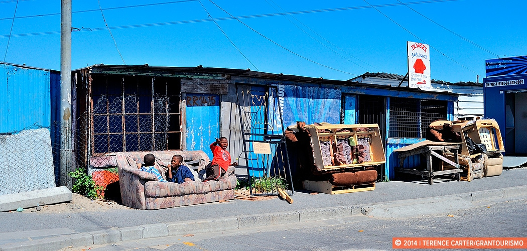 Townships, Cape Town, South Africa. Local Tips on Staying Safe in Cape Town and Its Townships. Copyright 2014 Terence Carter / Grantourismo. All Rights Reserved.