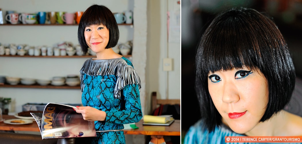 Lyla Peng, Fashion Producer, Buenos Aires, Argentina. Copyright 2014 Terence Carter / Grantourismo. All Rights Reserved.