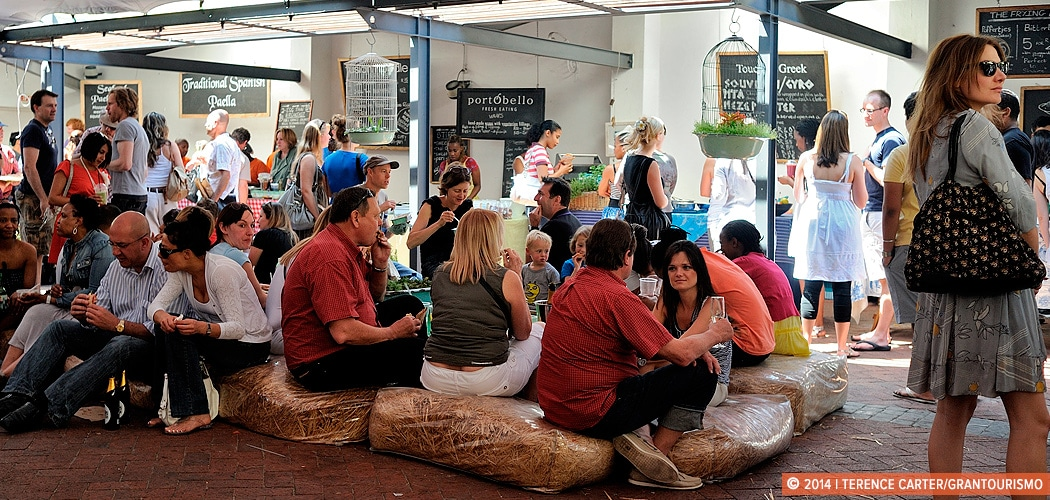 Neighbourgoods Market at the Old Biscuit Mill, Woodstock, Cape Town, South Africa. Copyright 2014 Terence Carter / Grantourismo. All Rights Reserved.