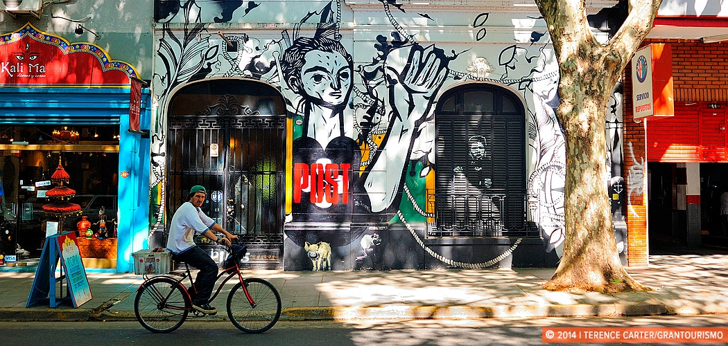 A Street Art Stroll Through Buenos Aires with Graffitimundo. Buenos Aires, Argentina. Buenos Aires, Argentina. Copyright 2014 Terence Carter / Grantourismo. All Rights Reserved.